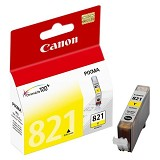 CANON Yellow Ink Cartridge [CLI821Y] - Tinta Printer Canon